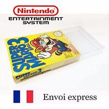 Protection transparente boite Nintendo NES - boitier protector case box sleeve