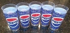 Pepsi Winter Wonderland Christmas Glasses Set of 5