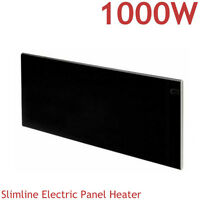 New Designer Electric Panel Heater Radiator Convector Slimline Wall Mounted  1kW