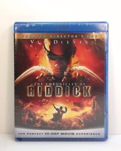 Chronicles of Riddick (Blu-ray Disc, 2009, Rated  Unrated Versions)