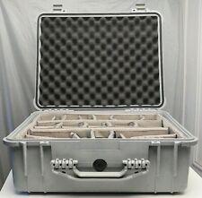 Pelican 1550 Case w/ Padded Divider Set-use w/ arri porta brace zeiss canon sony