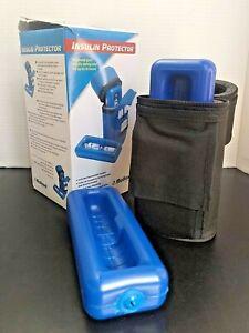 Insulin Protector Case Insulin Cooler Black Color Medicool New Open Box