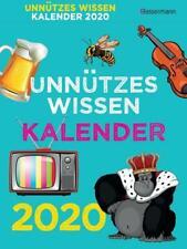 Unnützes Wissen Abreißkalender 2020