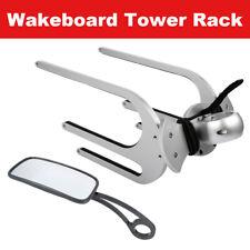 TC Wakeboard Tower Rack Surfboard Kneeboard Water Board Holder Aluminum & Mirror