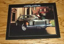 Original 1978 Chrysler Cordoba Sales Brochure 78