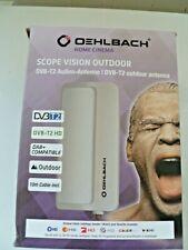 Oehlbach Scope Vision Outdoor Antenna for DVB-T2 / DAB+ / UK plug
