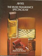 1985 Vintage Antique AVON Sales Catalog Book Brochure Campaign 5