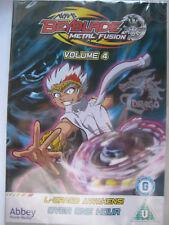 Beyblade Metal Fusion Volume 4 (DVD 2012) New Sealed PAL Region 2