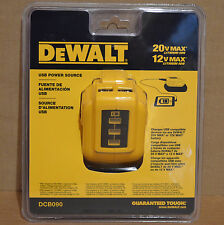 Brand New DeWALT DCB090 12V/20V MAX USB Power Source