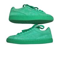 Puma Classic Suede Sneakers Youth Kids Size 5C Simply Green 35511068