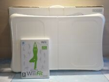 Nintendo Wii Fit Balance Board and Wii Fit Game BOXED
