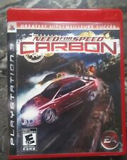 Need for Speed Carbon (Sony PlayStation 3, 2006) PS3 Complete