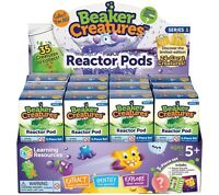 2 x LEARNING RESOURCES BEAKER CREATURE REACTOR PODS BLIND PACKS NEW