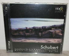 CD SCHUBERT - SYMPHONY No. 8 IN B MINOR - ROSAMUNDE - 20 BIT - NUOVO NEW