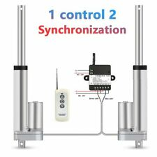 2*Linear Actuator 1*RF Remote Controller 12V 50mm 100mm 150mm 200mm 250mm Stroke