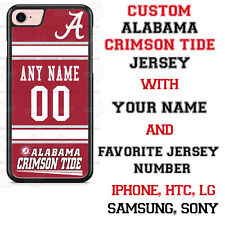 Alabama Crimson Tide Football Phone Case Cover Personalized for iPhone etc.