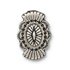 TierraCast Western Button, Antiqued Silver Plated Lead Free Pewter (T1001)