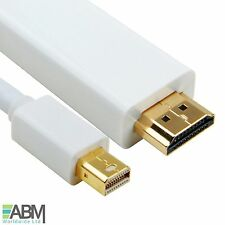 50cm Mini Display Port to HDMI TV Cable Adapter for MacBook Air Pro iMac UK