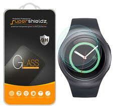 3X Supershieldz Samsung Gear S2 Tempered Glass Screen Protector Saver