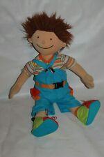 Jako-o Puppe Junge Anton Stoffpuppe Kuschelpuppe Weichpuppe Anziehpuppe 50cm RAR