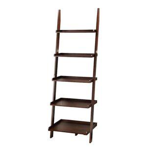 Convenience Concepts American Heritage Bookshelf Ladder, Espresso - 8043391-ES