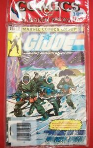 G.I. JOE AMERICAN HERO 2 26 27 MARVEL COMIC 3 PACK SNAKE EYES ORIGIN 1982 NM