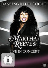 DVD CD MARTHA REEVES Live In Concert CD y DVD Juego