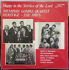 Memphis Gospel Quartet Heritage - 1980's Happy In The Service Of The Lord LP New