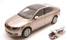 Skoda Octavia III 2014 Gold Metallic 1:18 Model ABREX