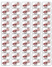 """50 Captain Underpants Envelope Seals / Labels / Stickers, 1"""" by 1.5"""""""