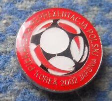 POLAND FOOTBALL FUSSBALL SOCCER FEDERATION WORLD CUP KOREA JAPAN 2002 PIN BADGE
