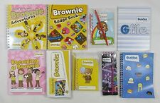 Rainbows Brownies Guides Note Book Notepad Pencil Handbook Badge Welcome New