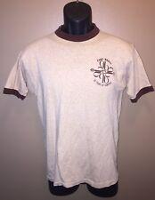 VTG 70s CAMP WABAK 1948 1978 30 Years of Camping GIRL SCOUTS T-Shirt Ringer GSA