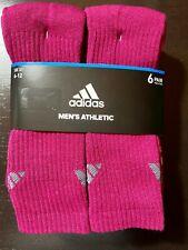 adidas magenta original 6 pack Men's 3-Stripe Socks, 1.99 Shipping