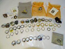 Lot Bulk Jewelry Ring Nordstrom Sterling Silver 925 Bvlgari Palacios Swarovski