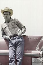 Paul Newman on Cadillac Art Print Poster Poster Print, 24x36