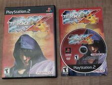 Tekken 4 (Sony PlayStation 2, 2002) Complete Tested