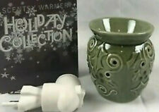 """Scentsy wax Warmer """"HOLLY"""" Plug in Christmas night light Holiday Holly"""