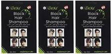 Instant Hair Dye - Dexe Black Hair Shampoo - (3) Pieces  Ships From USA