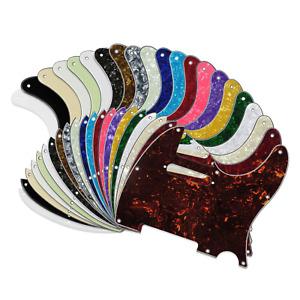 Tele Telecaster Pickguard Scratch Plate Electric Guitar USA MEX FIT 21 Colours