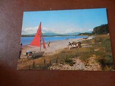 More details for ledaig benderloch yacht  dingy  1960 era  postcard  p11 g16