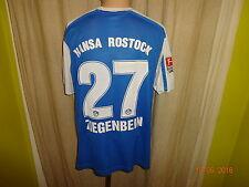 "Hansa Rostock Original Nike Trikot 2011/12 ""VEOLIA"" + Nr.27 Ziegenbein Gr.L"