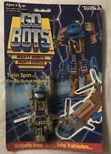 Tonka GoBots Twin Spin 42 Enemy Robot Hellicopter