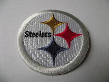 Pittsburgh Steelers NFL Team Patch, Embroidered, Iron or Sew on