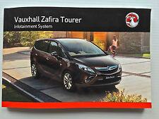 Vauxhall ZAFIRA Tourer Audio CD 300 400 600 Navi 950 650 Operating Manual