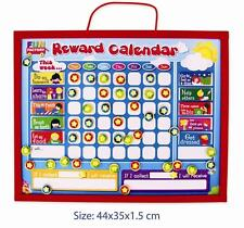 NEW WOODEN Educational Magnetic Childrens STAR REWARD Chart - For Good Behaviour