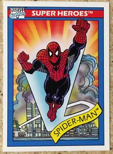1990 Marvel Universe Series 1 Cosmic Spider-Man #30 Impel
