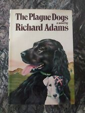 THE PLAGUE DOGS BY RICHARD ADAMS KNOPF 1978 FIRST AMERICAN EDITION VG*