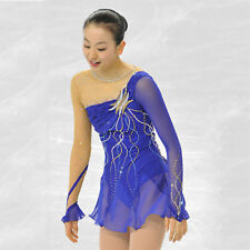 Custom ice skating dress Fashion figure Skating Dresses For Adults or Girls A524