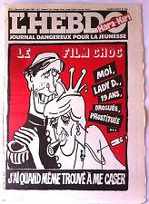 "Hara Kiri N°2 du 29/7/1981; ""journal dangereux pour la jeunesse"""